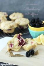 Lemon Blackberry Muffins
