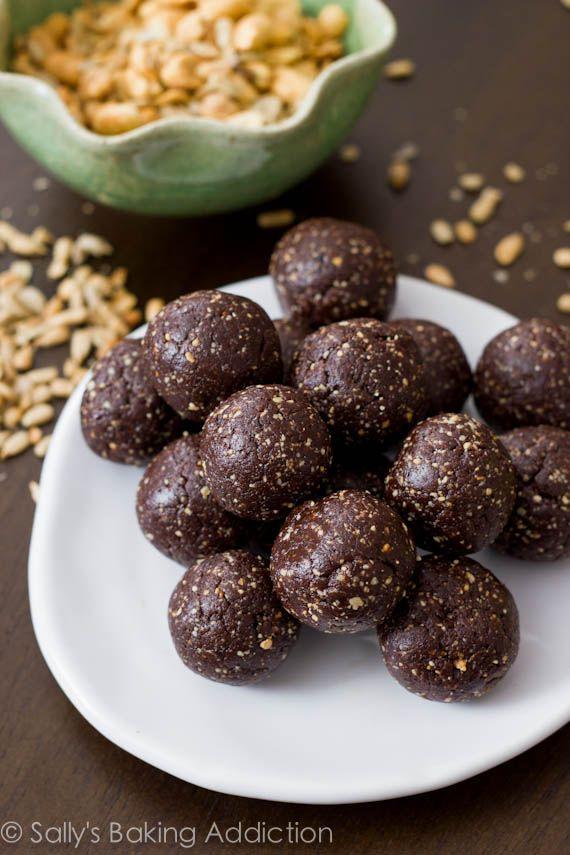 Chocolate Truffle Energy Bites