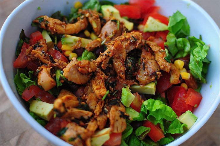Fiesta Chipotle Chicken Salad