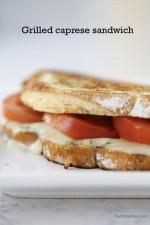 Grilled Caprese Sandwich