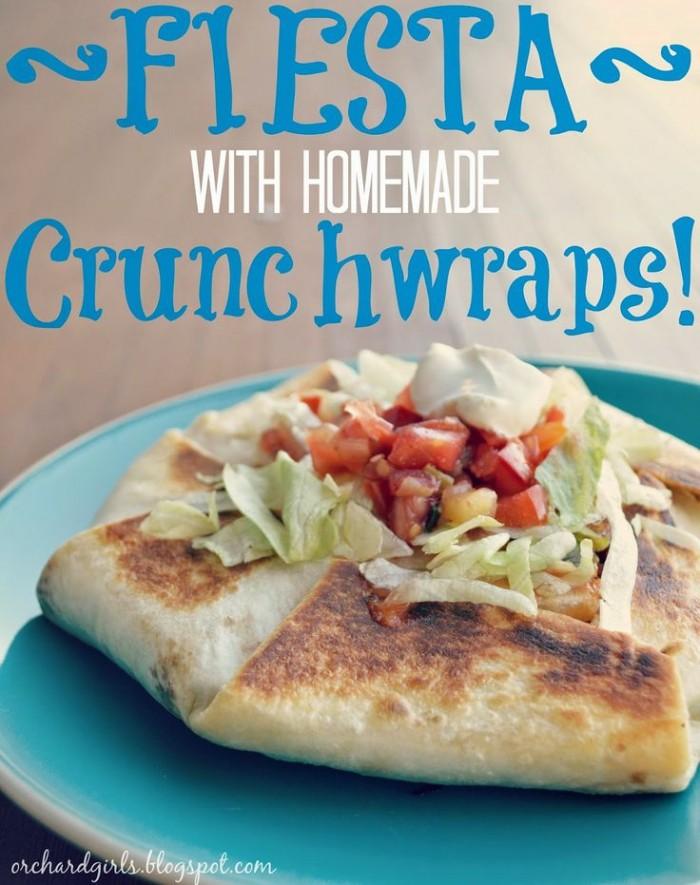 Homemade Crunchwraps