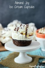 Almond Joy Ice Cream Cupcakes