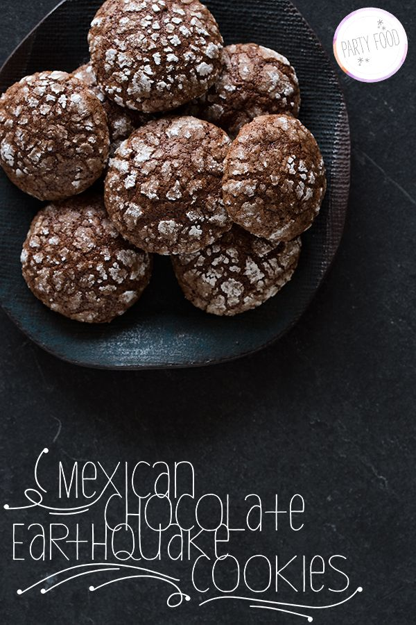 mexican chocolate earthquake cookies