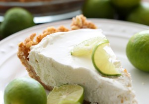 Key Lime Pie from chef-in-training.com …This pie is FABULOUS! It is so quick and easy and the vanilla wafer crust compliments it perfectly!