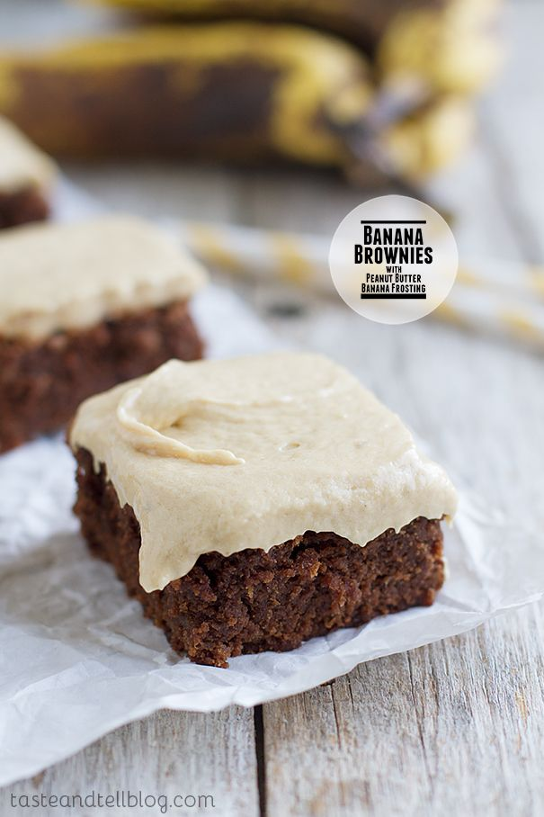 Peanut Butter Banana Frosting