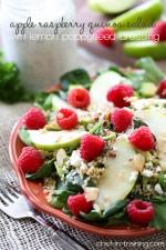 Apple Raspberry Quinoa Salad