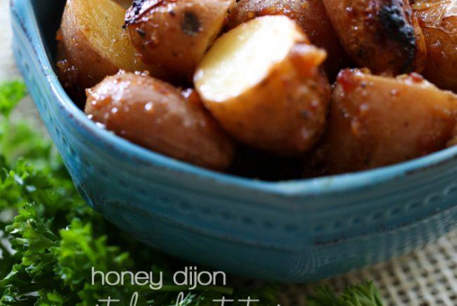 Honey Dijon Roasted Red Potatoes