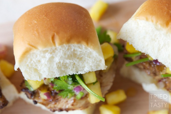 Jerk Chicken Slider… These are so simple to make, full of flavor and a recipe the whole family will enjoy!