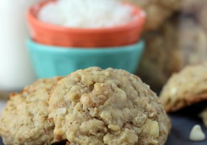 Coconut Cashew Oatmeal Cookies… These cookies are amazing!