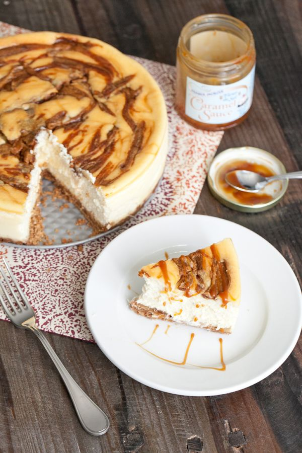 Peanut Butter, Caramel Cheesecake