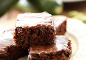 Zucchini Brownies from chef-in-training.com …These brownies are rich, moist, delicious and the perfect way to use up some of that zucchini!