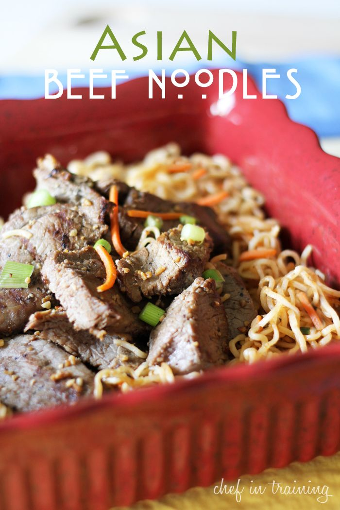 Chinese Noodles With Baked Sriracha Ribs Recipe — Dishmaps