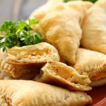 Buffalo Chicken Turnover Appetizer Puffs from chef-in-training.com …If you need an appetizers that whips up in minutes and is a total crowd pleaser, then this is the recipe for you!