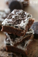 Cookies and Cream Frosted Brownies
