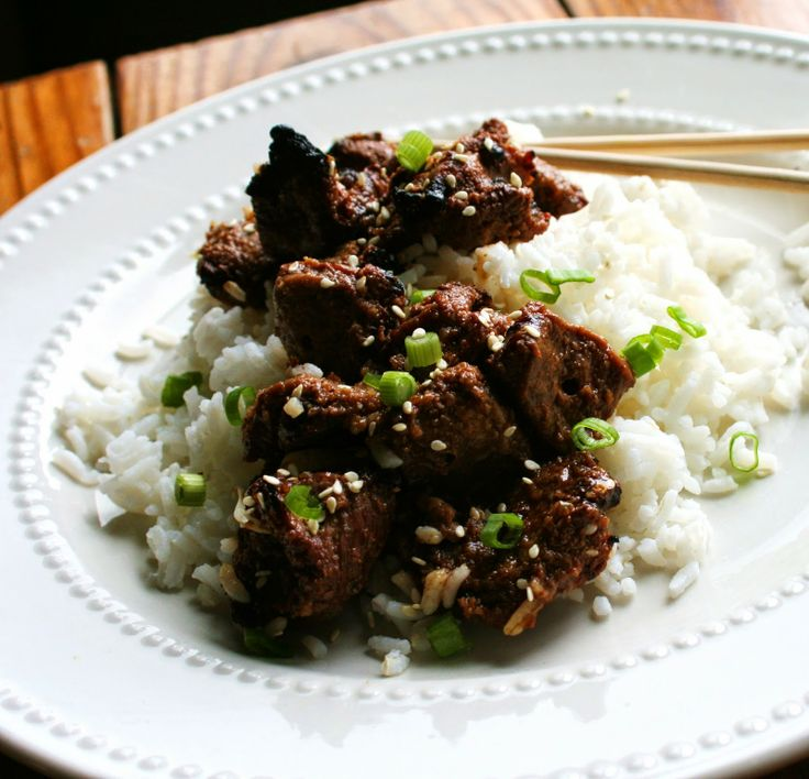 Grilled Korean Beef
