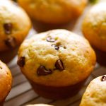 Zucchini Chocolate Chip Muffins… these are simple to make, taste delicious and a great way to use up some zucchini!