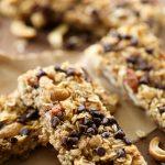 Almond Cashew Granola Bars
