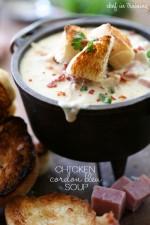 Chicken Cordon Bleu Soup