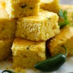 Jalapeño Corn Bread from chef-in-training.com ...A delicious spin to traditional corn bread! It has a kick of heat that compliments the recipe perfectly!