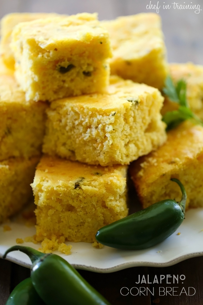jalapeño corn bread print a delicious spin to traditional corn bread ...