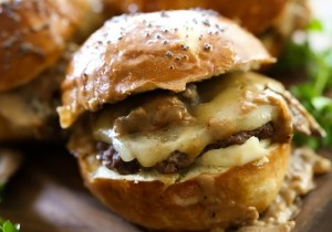 """Knock Your Socks Off"" Tailgate Sliders from chef-in-training.com ...These sliders are ALWAYS the biggest hit with a crowd! They are AMAZING!"