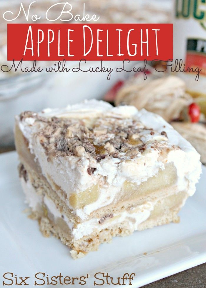 No Bake Apple Delight