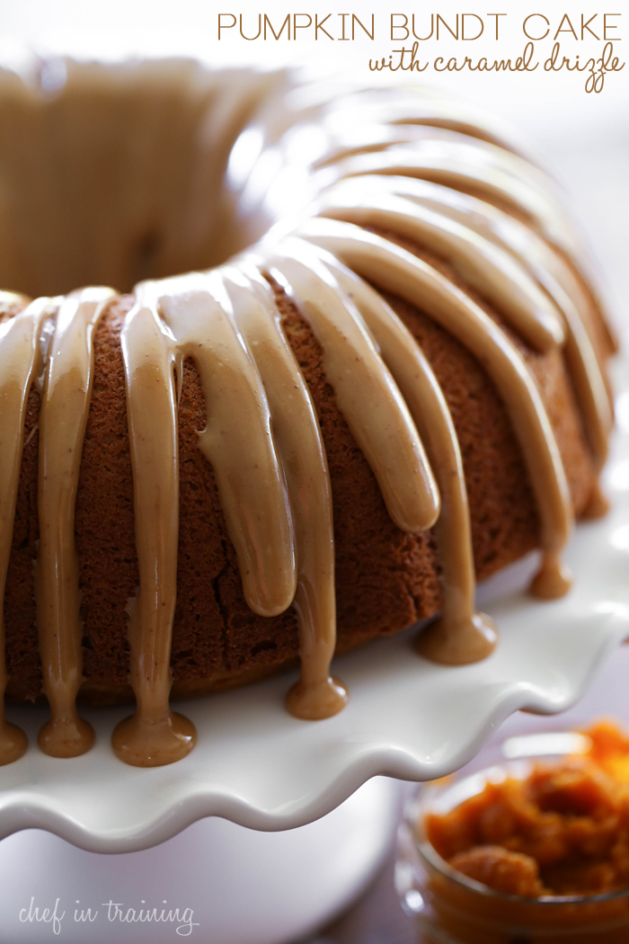 Chocolate Caramel Nut Bundt Cake