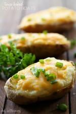 Twice Baked Potato Boats