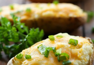 Twice Baked Potato Boats from chef-in-training.com ...this classic side dish is full of flavor and is SO easy to make! Everyone LOVES them!