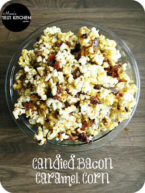 Candied Bacon Caramel Corn