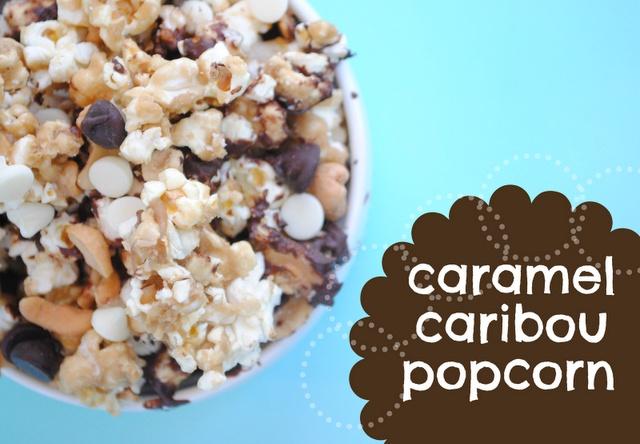 Caramel Caribou Popcorn