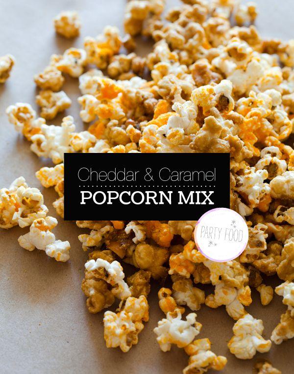 Cheddar & Caramel Popcorn Mix