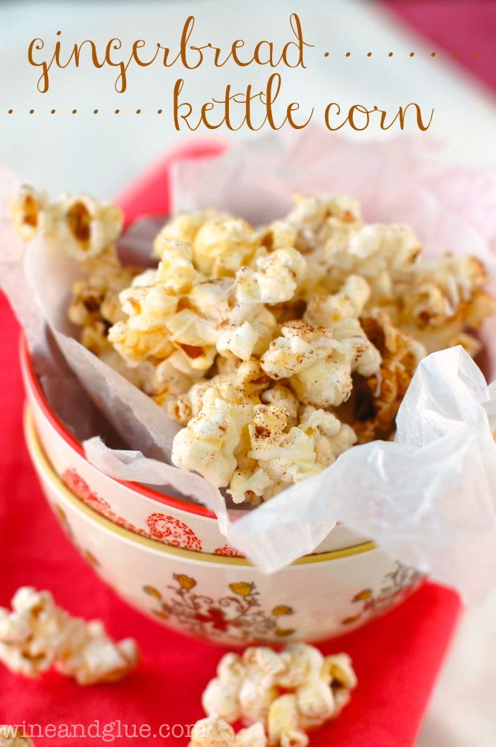 Gingerbread Kettle Corn