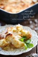 Overnight Coconut French Toast