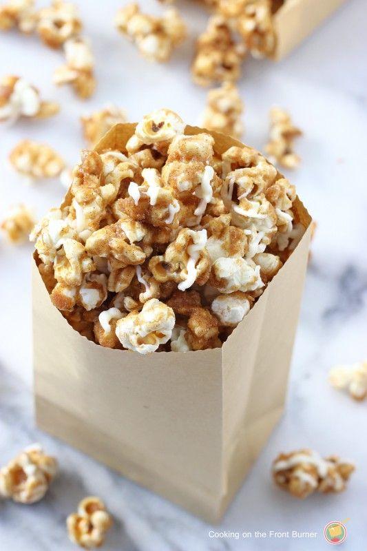 Pumpkin Spice Popcorn 2