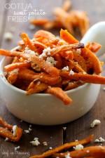 Cotija Sweet Potato Fries