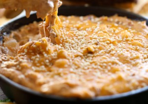 Cheeseburger Dip from chef-in-training.com ...This Dip is AMAZING! Cheesy, Beefy and packed with so much delicious flavor!