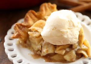 Classic Apple Pie from chef-in-training.com ...This pie is delicious! The right amount of tart and sweet and always a hit with the crowd!