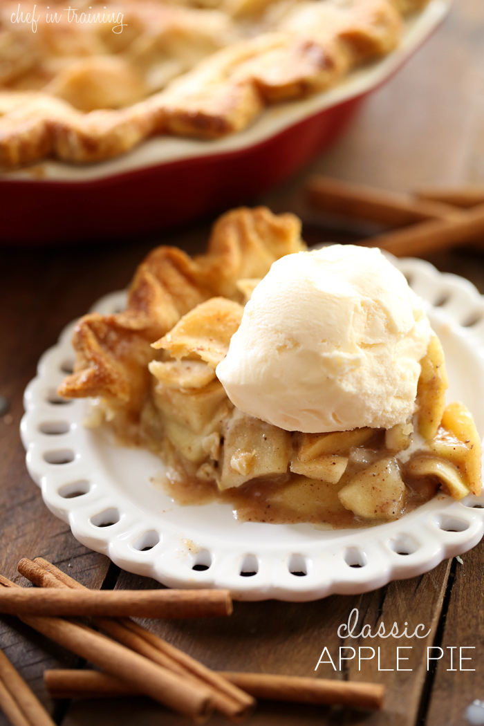 Classic Apple Pie from chef-in-training.com ...This pie is delicious ...