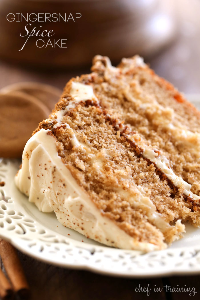 Cinnamon Spice Cake Recipe Ingredients