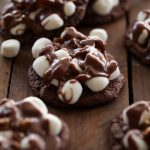Mississippi Mud Cookies from chef-in-training.com ...These cookies are phenomenal! Soft chewy chocolate cookie, topped with marshmallows, pecans and an insanely delicious chocolate glaze! These are a must make!