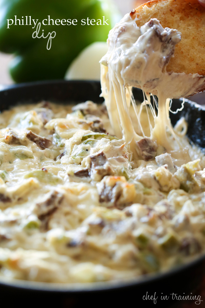 Philly Cheese Steak Dip From Chef In Training Com This