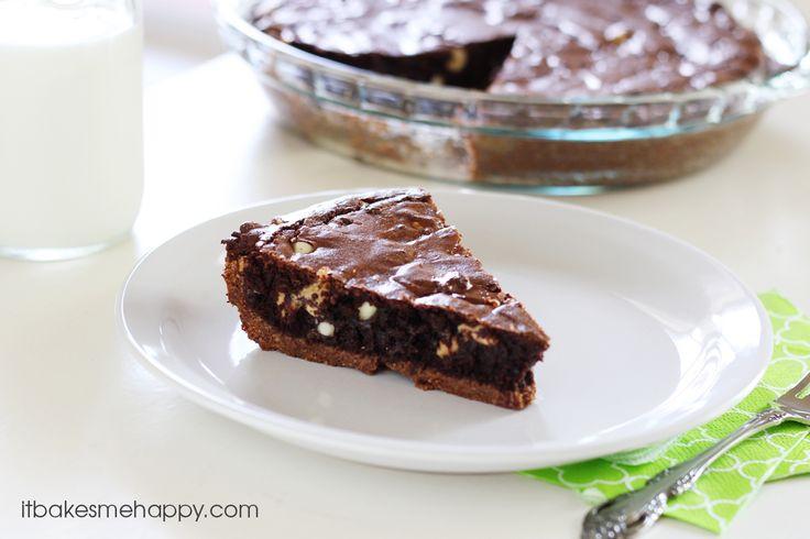 Ultimate Brownie Pie