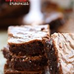 Nutella Brownies from chef-in-training.com ...These brownies are rich, fudgy and loaded with Nutella! They are so incredible!