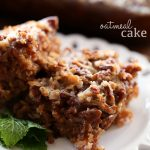 Oatmeal Cake from chef-in-training.com ...This cake is so moist and flavorful! It will quickly become a new favorite!