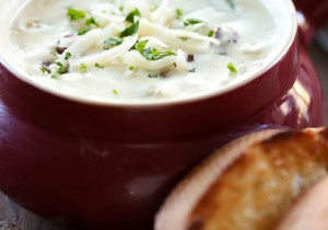 Philly Cheese Steak Soup from chef-in-training.com ...This soup is outrageously delicious and flavorful!