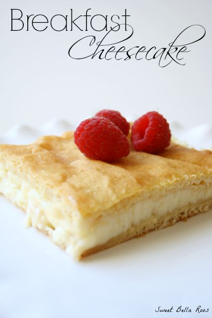 Breakfast Cheesecake