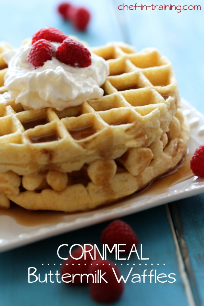 Cornmeal-Buttermilk-Waffles