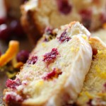 Cranberry Orange Pound Cake from chef-in-training.com ...This Pound Cake is so moist and is perfect for the winter and holiday season!