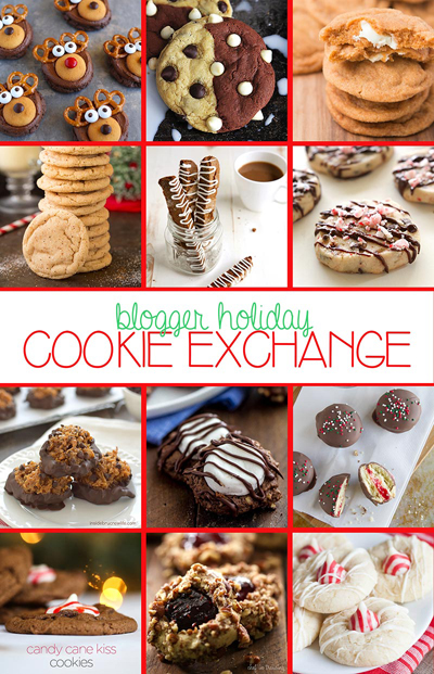 blogger holiday cookie exchange